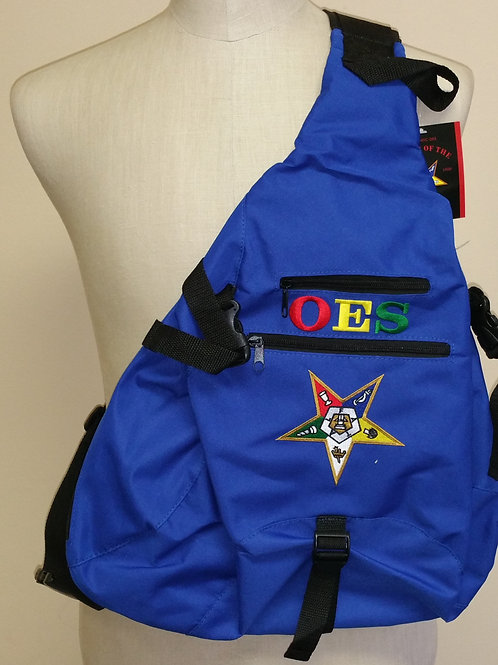 Order of the Eastern Star sling back pack