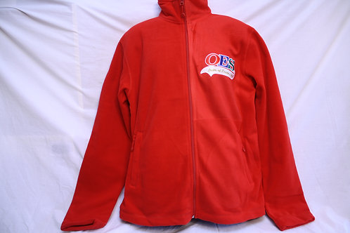 OES - Order of The Eastern Star fleece jacket with embroidered logo Star emblem