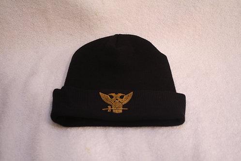 32nd Degree Consistory Wings Up Mason cuffed knit skull cap with logo emblem