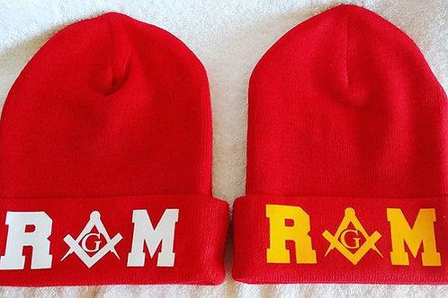 Royal Arch Mason (RAM) knit hat