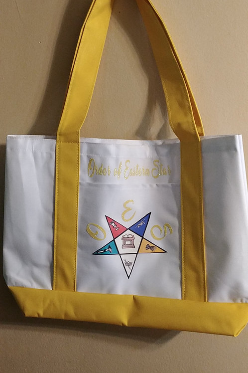 OES - Order of the Eastern Star cruiser boat logo tote bag