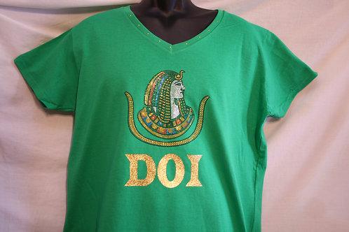 DOI PHA rhinestone logo t-shirt