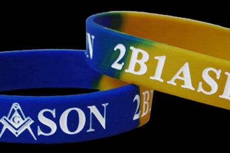 Mason 2B1ASK1 silicone wrist band