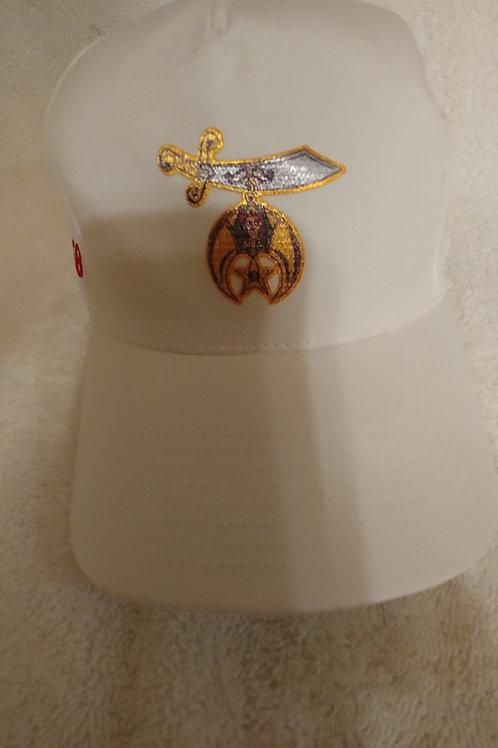 Shriner adjustable scimitar logo emblem ball cap