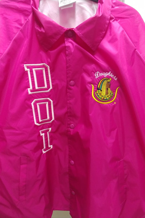 Daughters DOI Prince Hall embroidered logo nylon custom line jacket