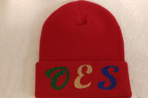 OES - Order of Eastern Star knit beanie hat