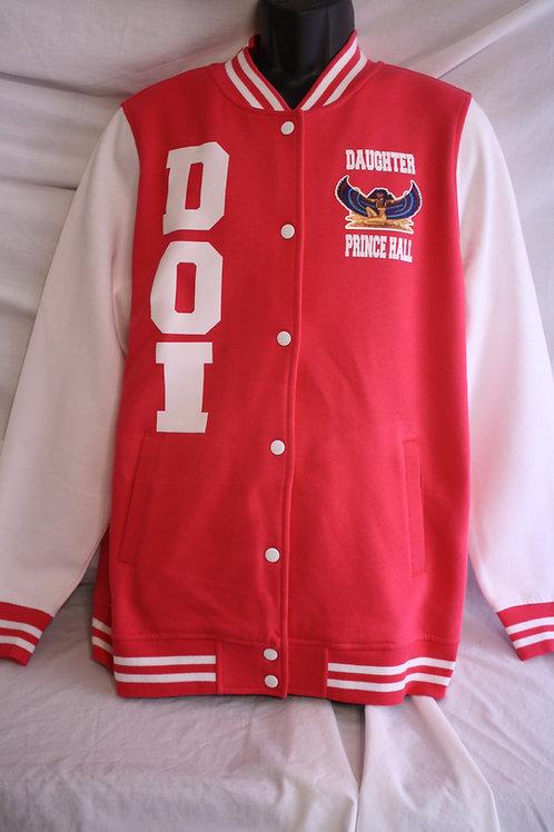 DOI PHA Prince Hall Daughter varsity jacket