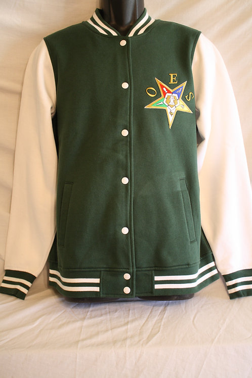 OES -  Order of The Eastern Star varsity jacket
