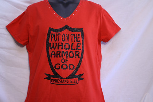 Put On The Whole Armor Of GOD t-shirts