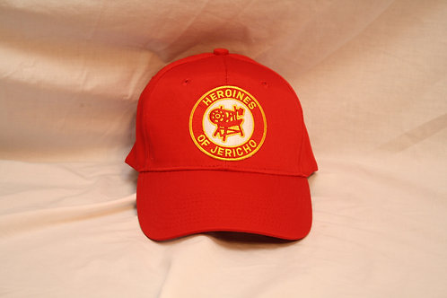 Heroines of Jericho ball cap with embroidered logo emblem