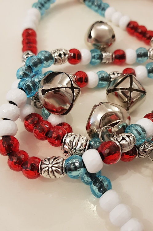 Faceted beads on Union Rhythm Beads