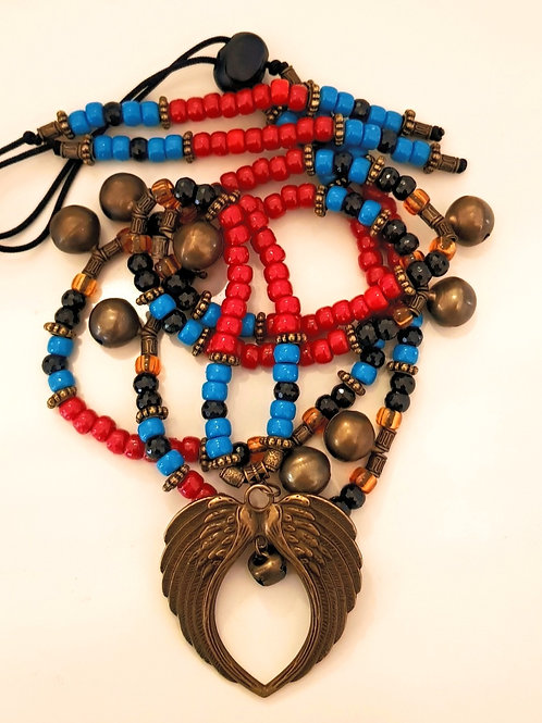 Sioux Rhythm Beads featuring Wings of Protection
