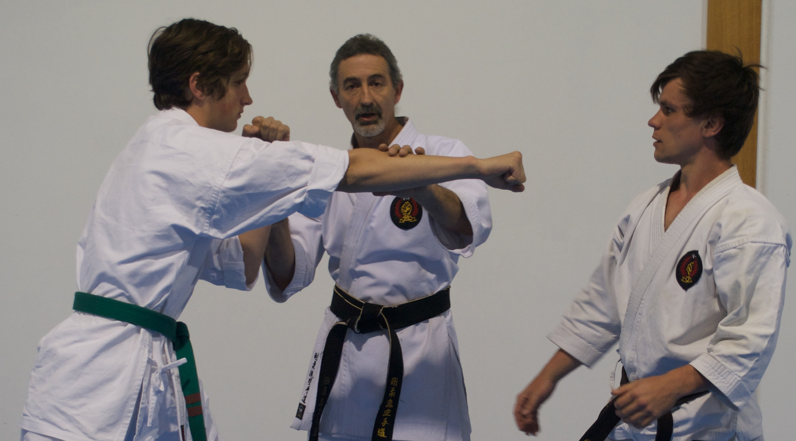 Senior karate training 8