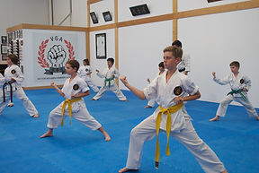 Children karate training 20