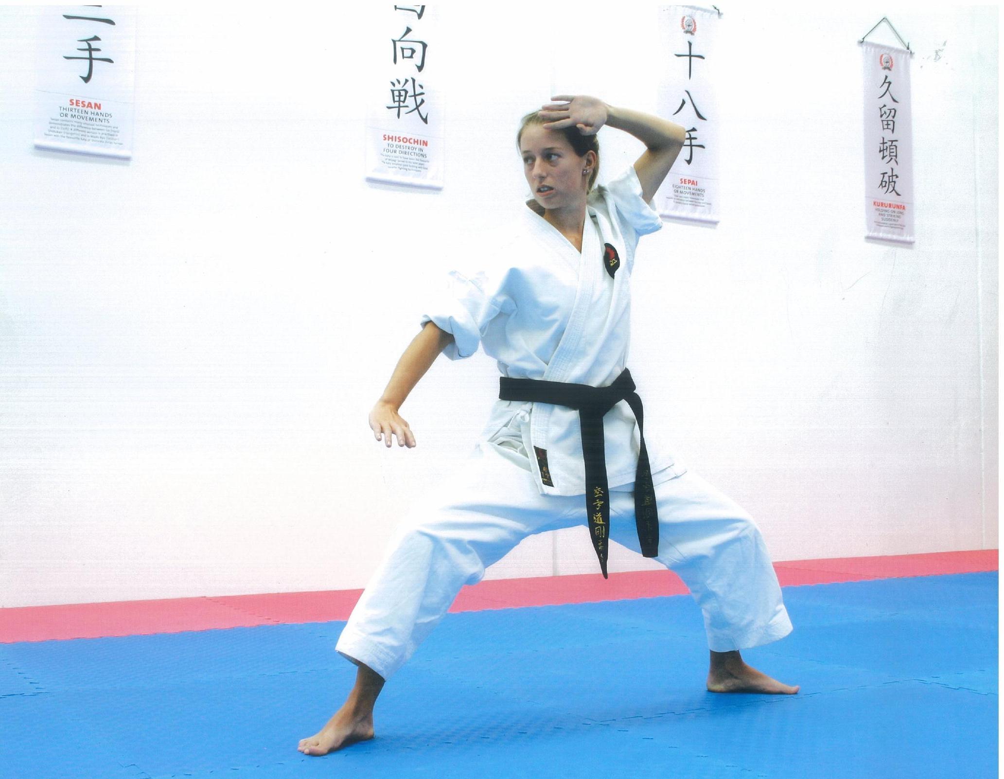 Senior karate training 14