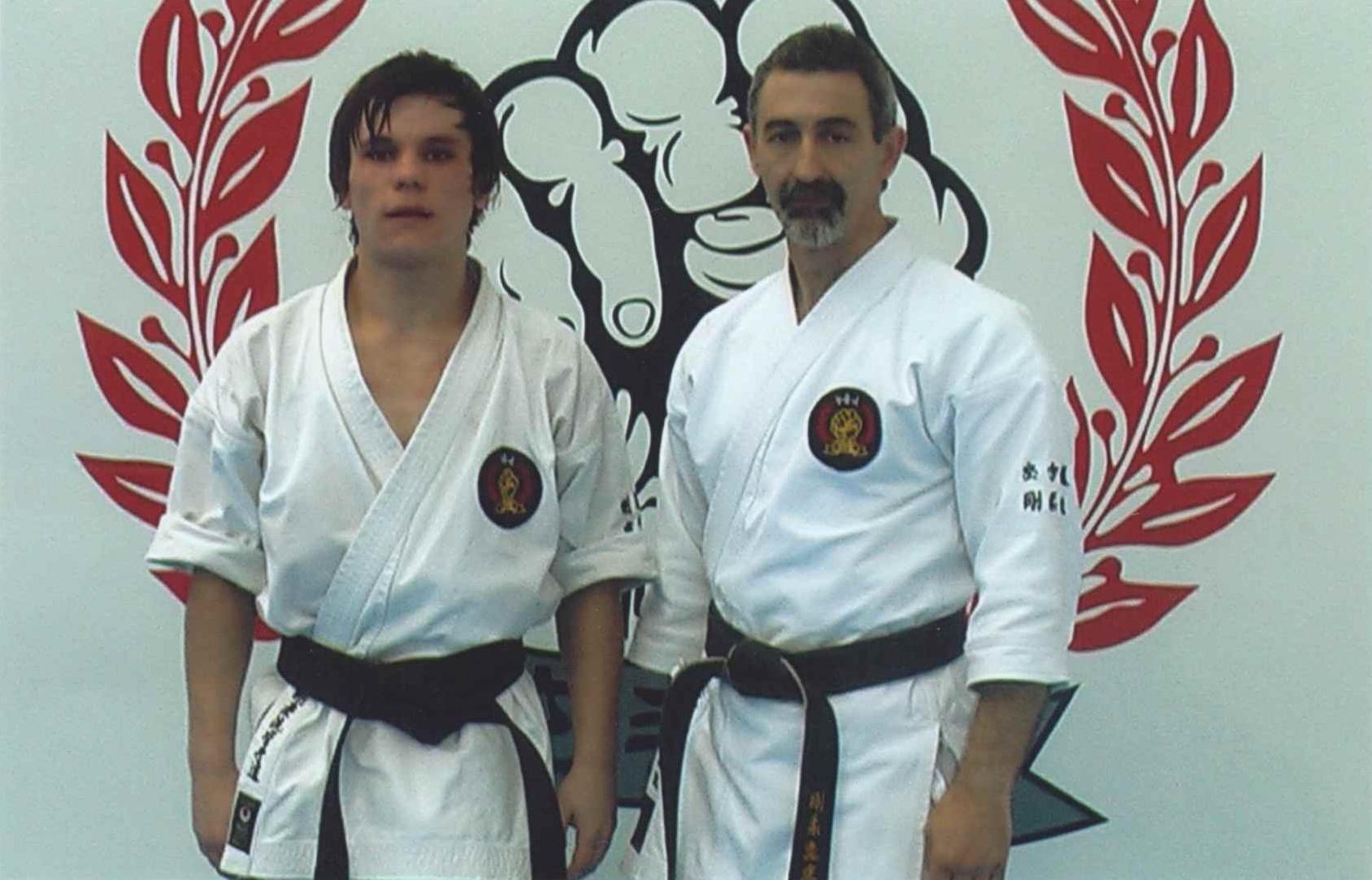 Senior karate training 16