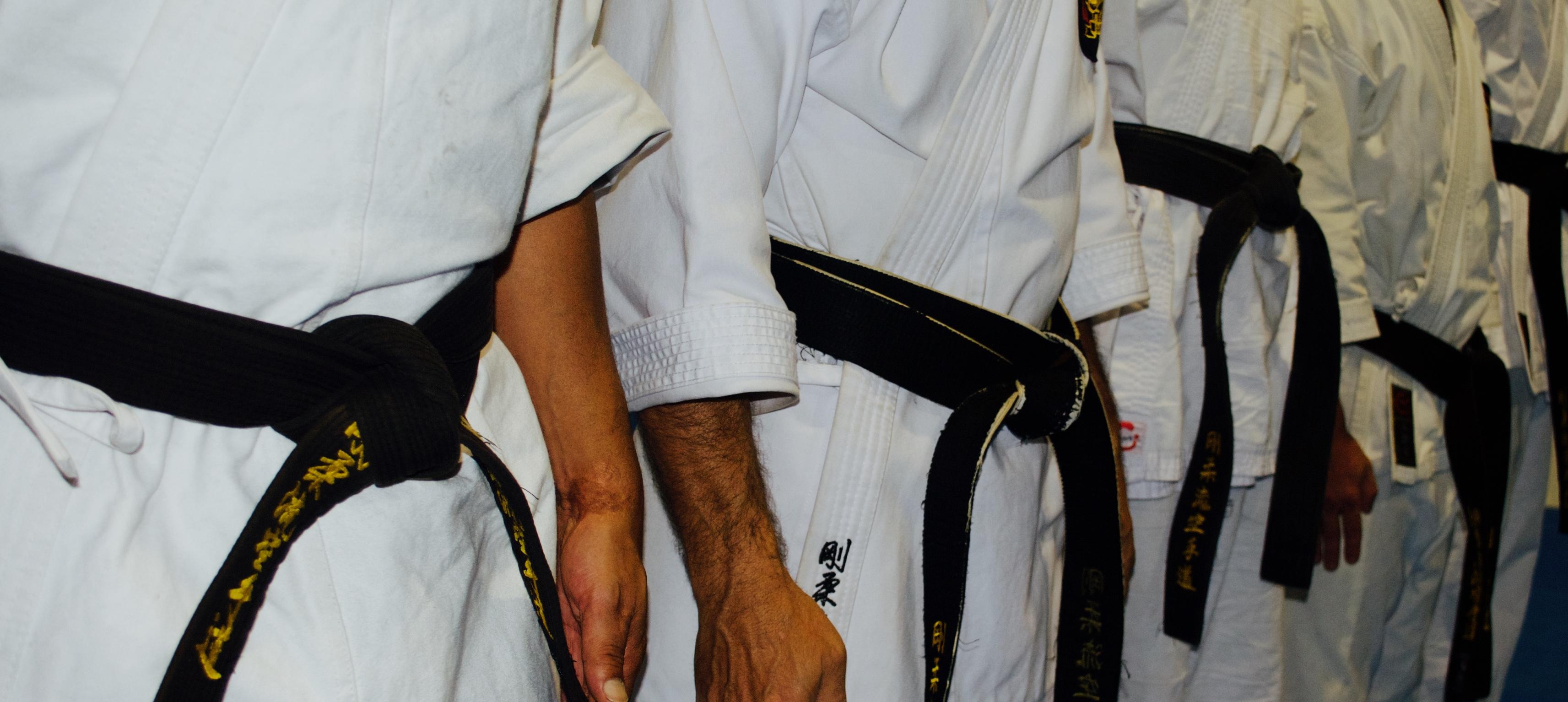 Senior karate training 10