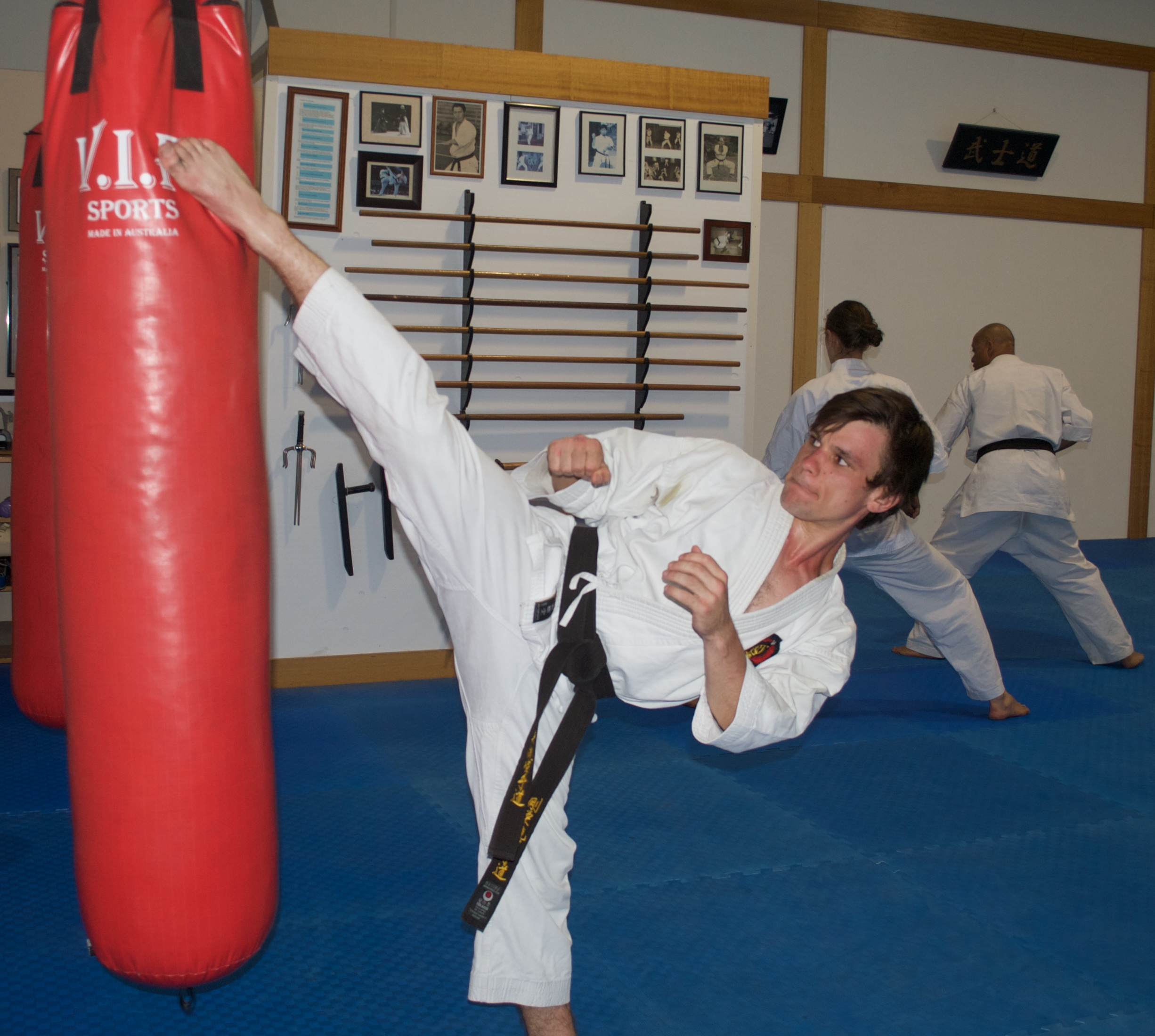 Senior karate training 11