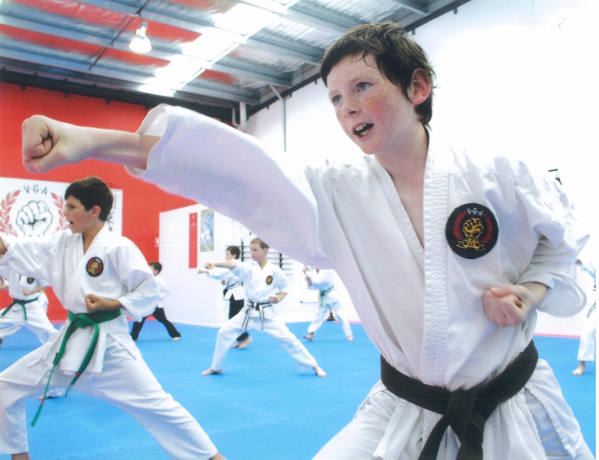 Children karate training 4