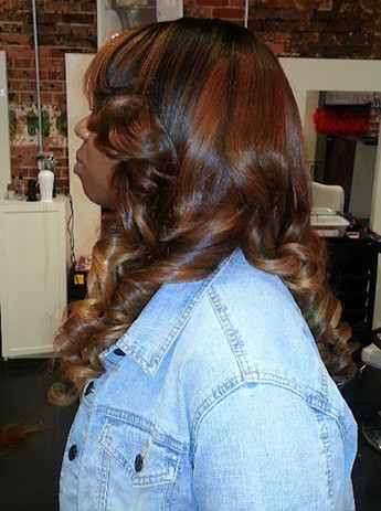 Sew in with Custom Color