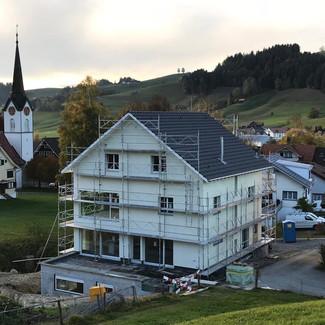 Auftrag: Planung Objekt: Einfamilienhaus Ort: Schönengrund AR Bezug: 2018