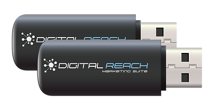 Digital Reach Marketng Suite workshop and slide show flash drive