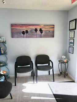 Marco Chiropractic Waiting Room