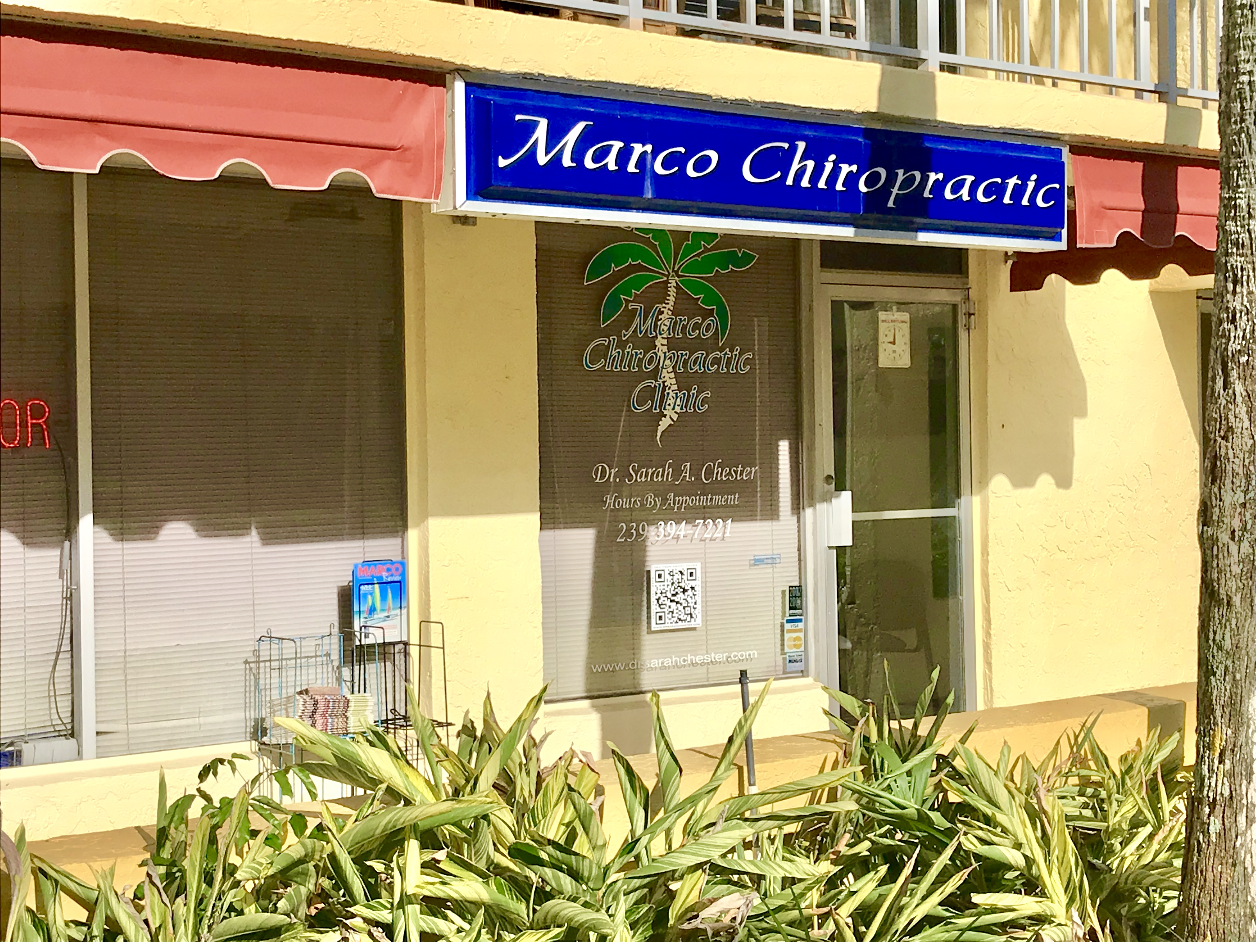 Marco Chiropractic Entrance