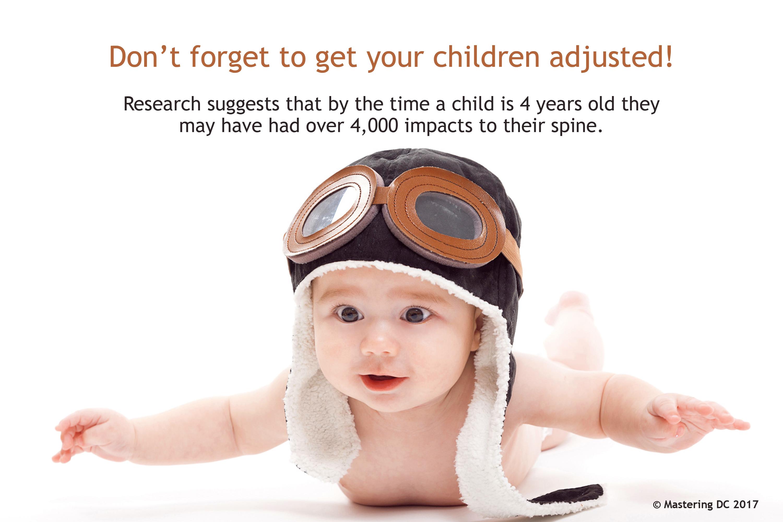 Children adjusted
