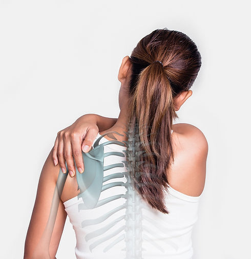 A woman that Dr. Sarah Chester has helped get relief from her back pain at Marco Chiropractic.