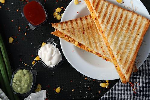 Hot Filled Baguette and Sandwich (2 Filling)