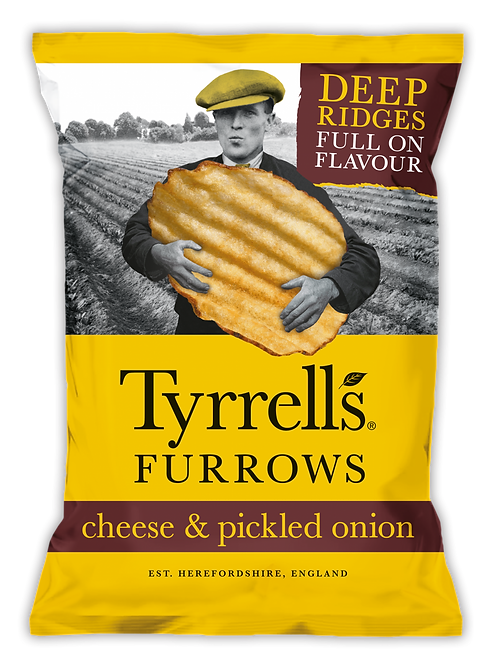 Cheese & Pickle Onion Furrows