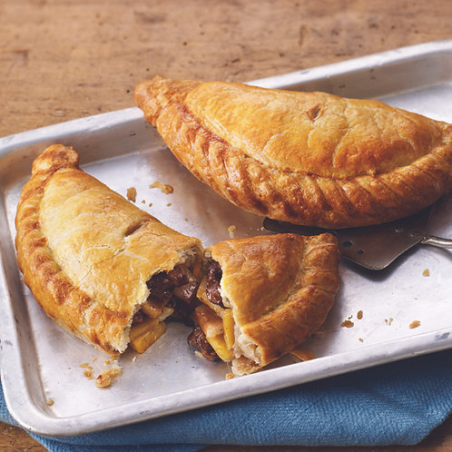 Steak And Vegetable Pasty