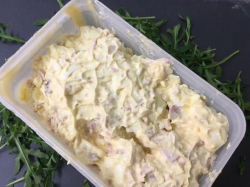 Egg Mayonnaise And Cold Bacon Mix