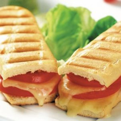 Cheddar Cheese And Ham Panini