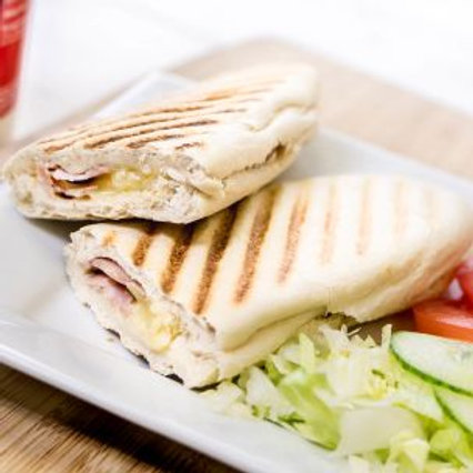 Cheese Spring Onion Mayonnaise Mix Panini