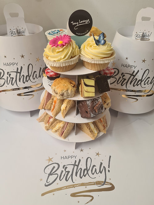 Happy Birthday Afternoon  Tea For Two