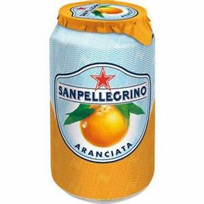 Orange san pellegrino 330 ml