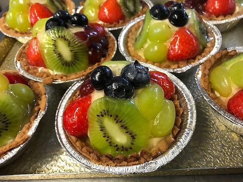 Fruit Tart with Crème Pâtissière