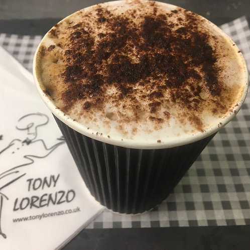 Regular Cappuccino with syrup