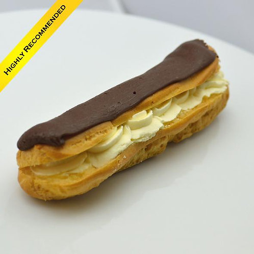 Fresh Cream Éclair