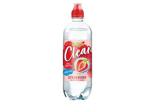 Calypso Clear Strawberry Flavour Water