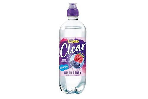 Calypso Clear Mixed Berry Flavour Water