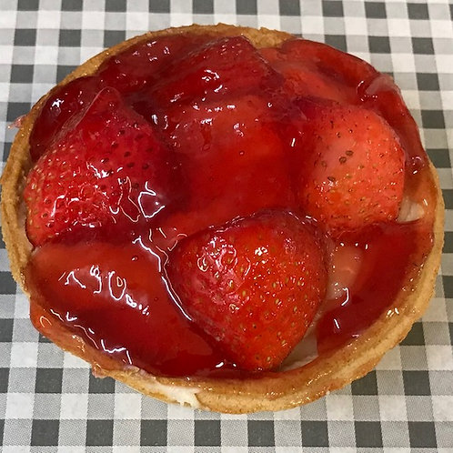 Strawberry Crème Pâtissière Tart