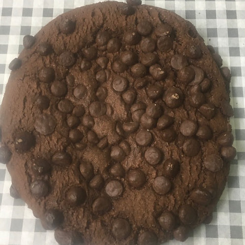 Giant Dark Chocolate Chip Cookie