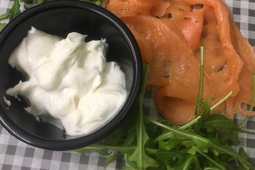 Cream Cheese And Smoked Salmon