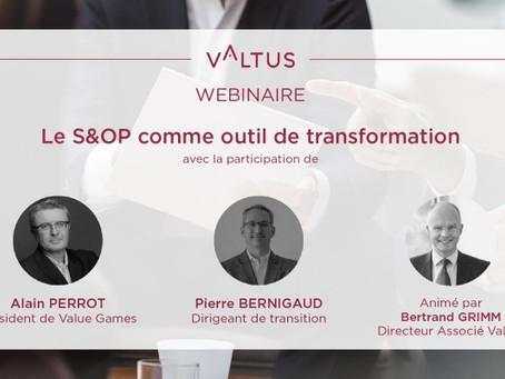 S&OP - Webinaire Valtus