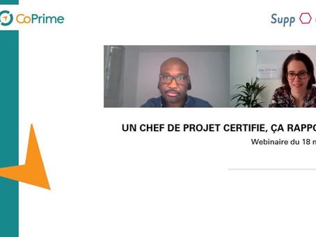 Un chef de projet certifié, ça rapporte !