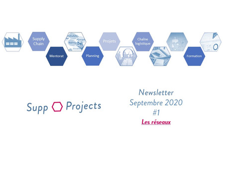 Newsletter #1 - Septembre 2020