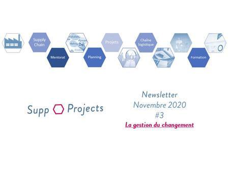 Newsletter #3 - Novembre 2020
